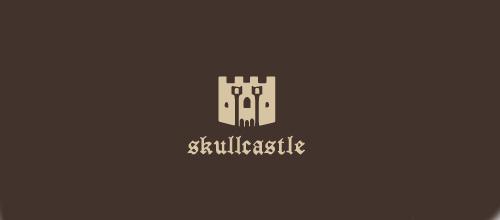Castle skull logo