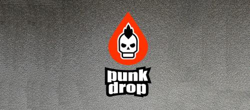 Punk skull logo