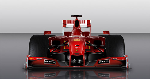 Ferrari F1 cars vexels vectors illustrations