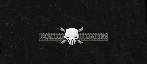 Metal skull logo