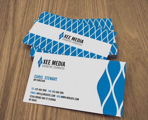 Free PSD: Elegant Business Cards