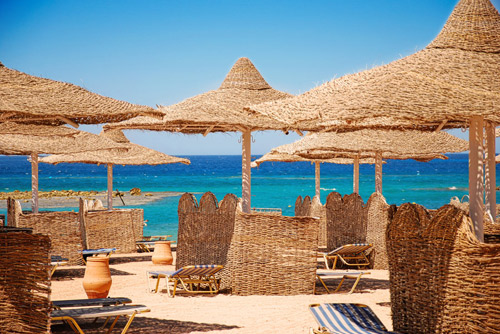 The Beach of Hurghada Egypt