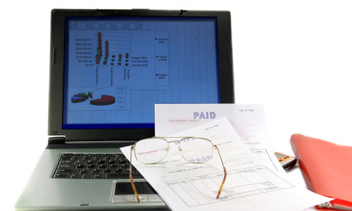 Track invoices