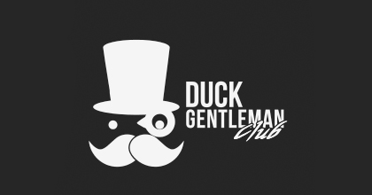 Gentleman ducks logo design