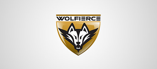wolfierce wolf logo