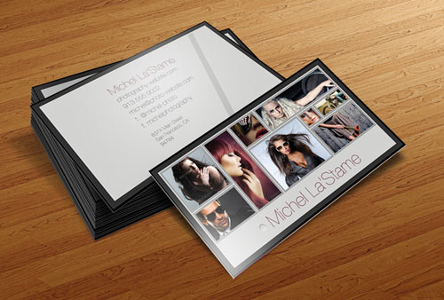 FREE Photographer Business Card Template V1