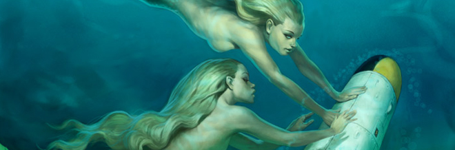 A Collection: 26 Mystifying Mermaid Illustrations