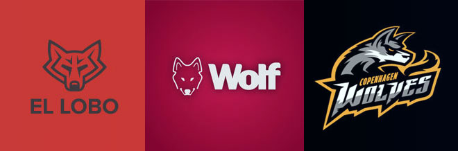 30 Examples of Marvelous Wolf Logo Designs