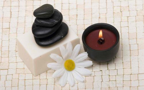 cappucino candle wallpaper