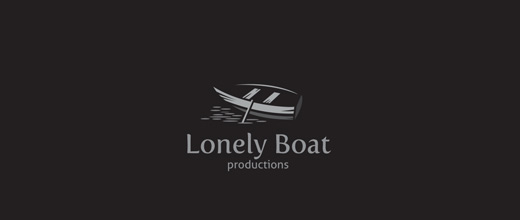 Empty boat logos design