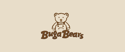 26 Inspiring and Delightful Teddy Bear Logos | Naldz Graphics