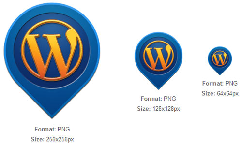 WordPress Pin Icon