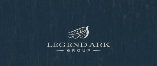 Ark boat logos design