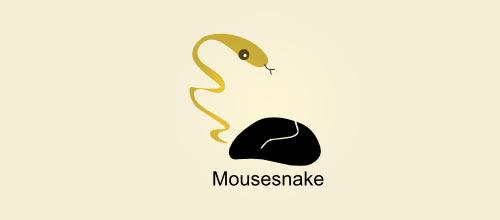 Snake Mouse Logo