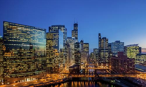 Chicago free high resolution skyscraper wallpaper