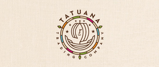 Trading boat logos design