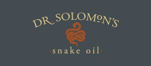 Dr. Solomon's Snake Oil logo