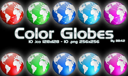 Color Globes icon