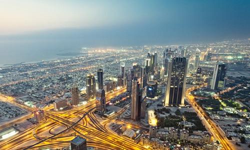 Dubai free high resolution skyscraper wallpaper