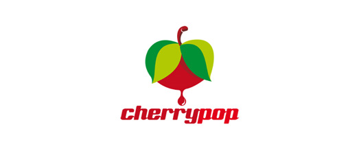 Juicy cherry logo designs