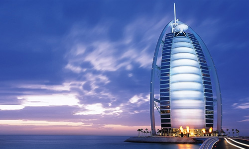 Burj Al Arab in Dubai free high resolution skyscraper wallpaper