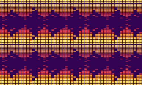Bars free musical repeat seamless pattern
