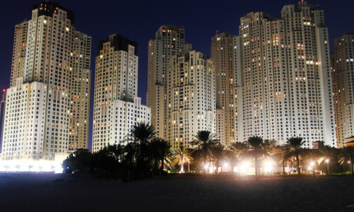 Dubai marina free high resolution skyscraper wallpaper