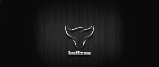 Black bull logo designs