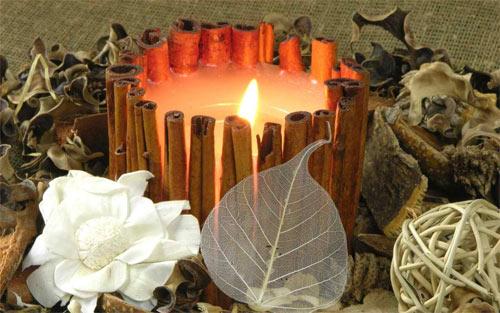cinnamon candle wallpaper