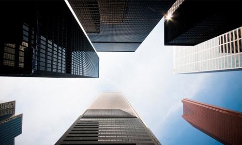 Looking up free high resolution skyscraper wallpaper
