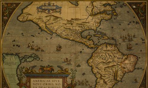 World Grunge Map II texture