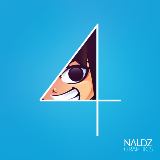 Join us as we celebrate naldzs 4th birthday with free ipad mini and nano naldz graphics for Naldz graphics