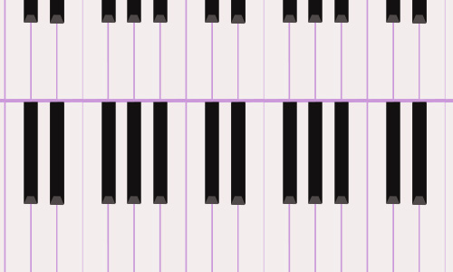 Piano keys free musical repeat seamless pattern