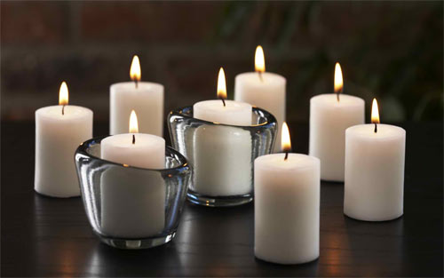 Candle wallpaper