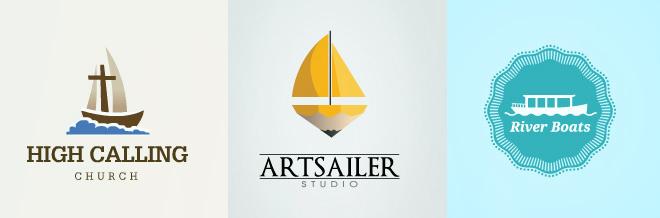 Inspiration Enhancer: 30 Fastidious Boat Logo Designs