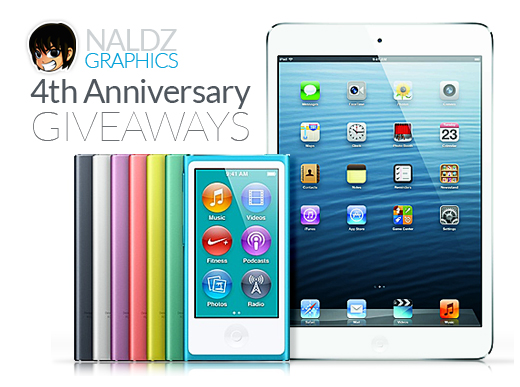 Naldz ipad mini giveaway