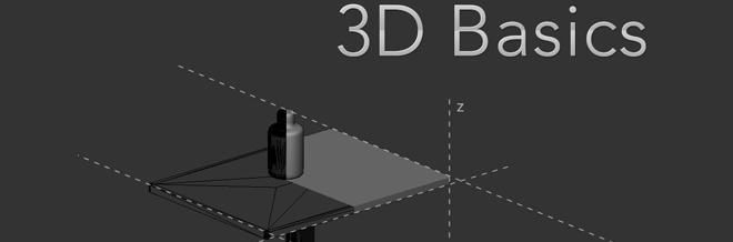 Photoshop 3D Basics – Combining Elements (primitive modeling)[含40P]