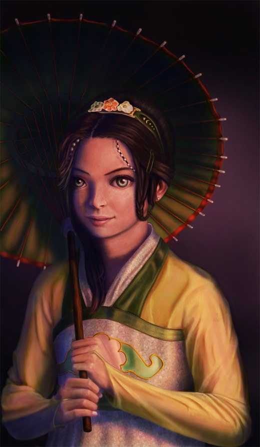 Beautiful toph avatar artwork illustrations