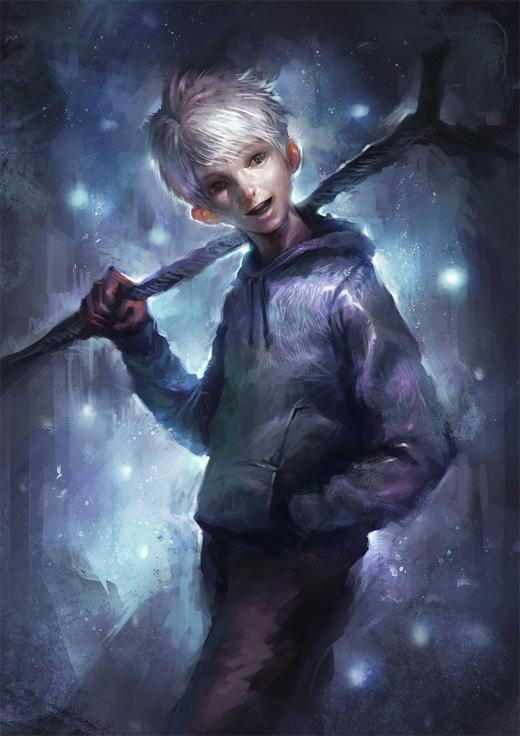 Kid nice jack frost artwork illustrations
