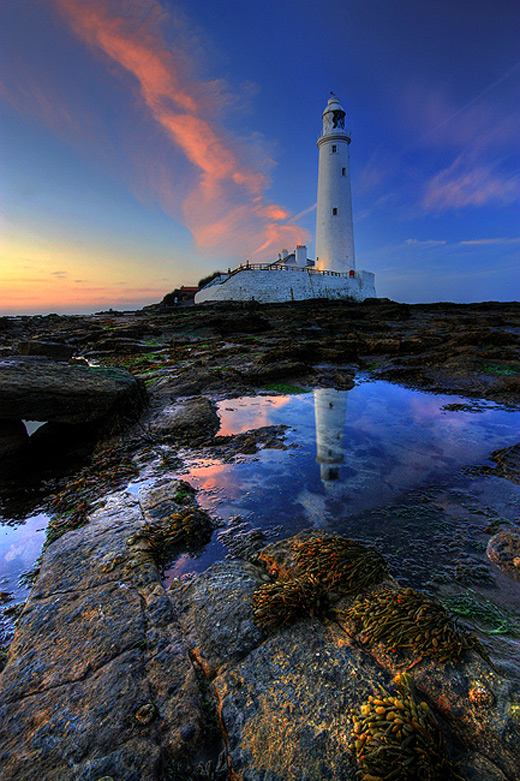 Beautiful lighthouse photography