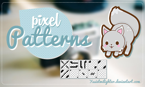 cute pattern pixel photoshop