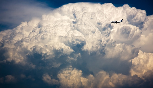 Big white plane clouds wallpaper free download hi res high resolution