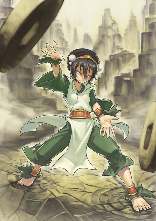 Rock earth toph avatar artwork illustrations