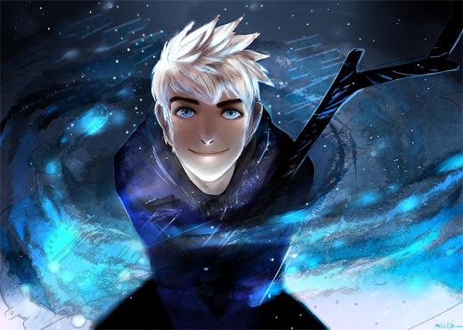 Smiling jack frost artwork illustrations