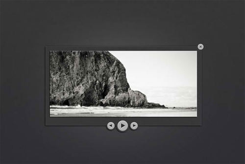 Dark Image Slider