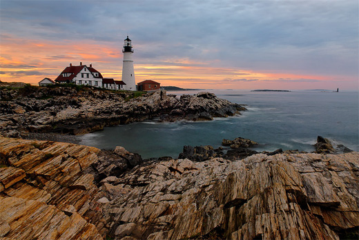 Scenery lighthouse photography