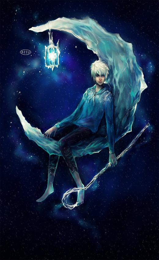 Moon dark jack frost artwork illustrations