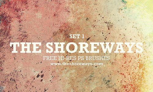 Free Hi-Res Acrylic Texture Brushes Set 1