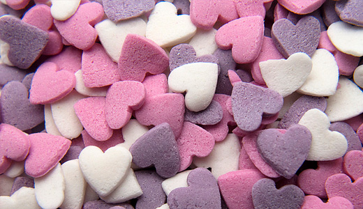 Heart pink purple sprinkle hi res high resolution texture