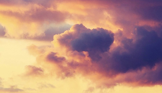 Orange sky sunset clouds wallpaper free download hi res high resolution